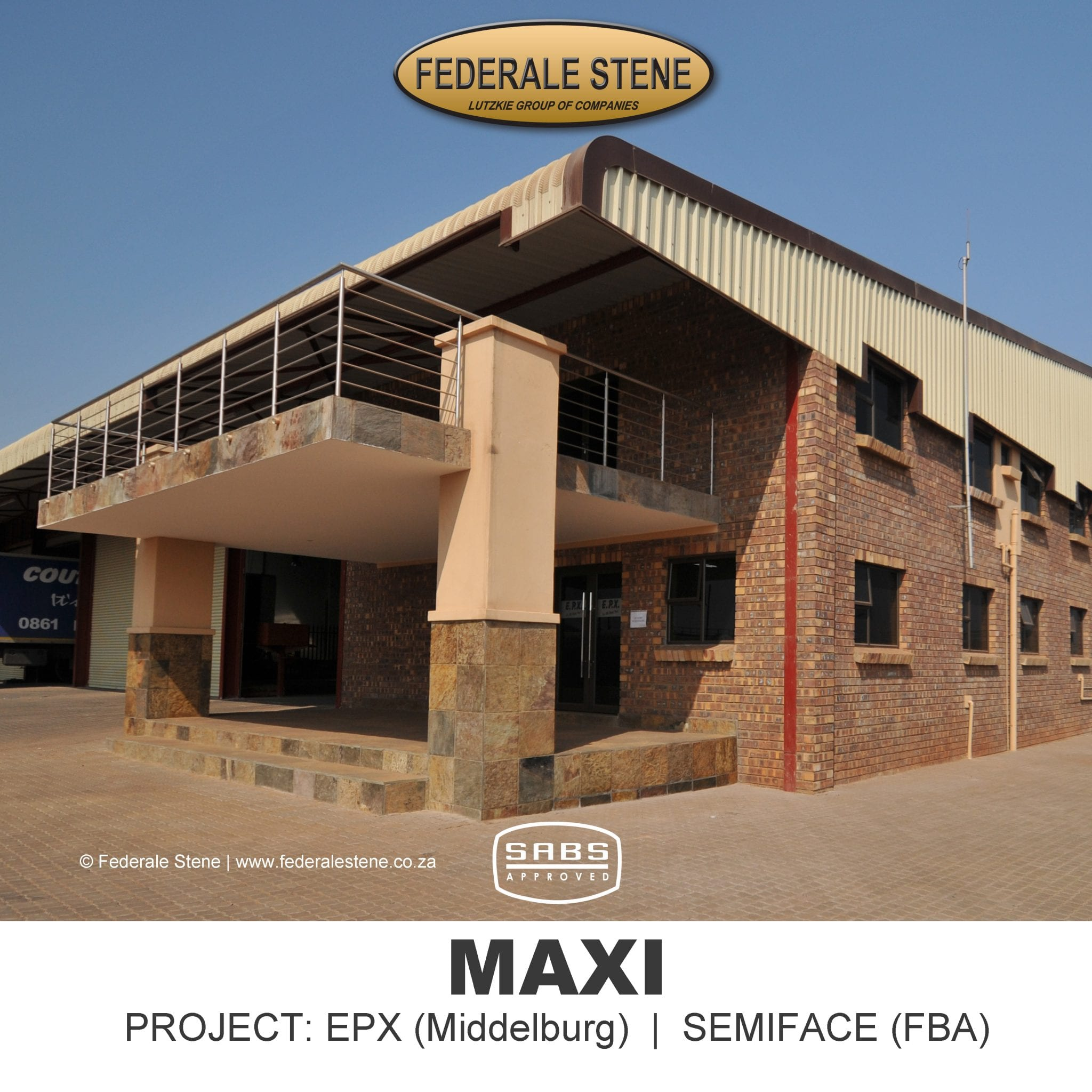 Maxi Cement Bricks: Federale Stene